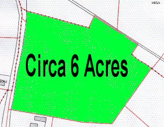 Knockogonnell,Ballymoe,Co Galway               –    Circa 6 acres