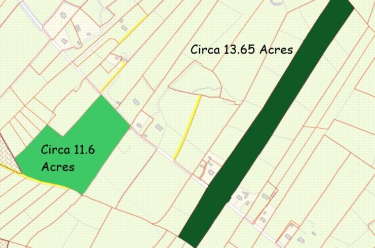 Rath, Aughamore , Ballyhaunis, Co Mayo – Circa 25  acres of Lands which can be sold in lots