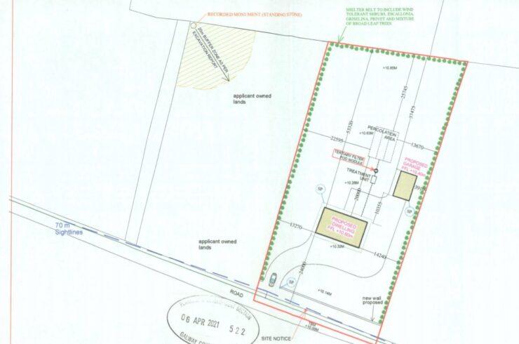 Ardeevin,Glenamaddy,Co Galway. Circa 0 .96 Acre Site area  Ref No 21486